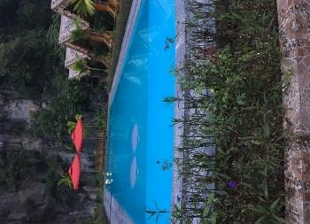 Lắp đặt thiết bị bể bơi Homestay A Tháo