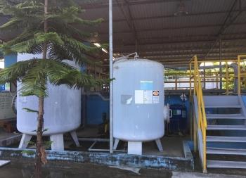 Lắp đặt hệ thống xử lý nước thải KCN Tam Điệp tỉnh Ninh Bình.