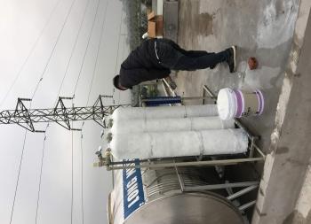 Lắp đặt bộ lọc nước tổng sinh hoạt nhà A Cương ở TP Ninh Bình