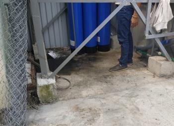 Lắp đặt hệ thống Lọc nước giếng khoan nhà A Luyện ở Huyện Yên Khánh, Tỉnh Ninh Bình