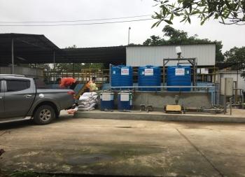 Lắp đặt hê thống xử lý nước thải KCN Khánh Phú tỉnh Ninh Bình.
